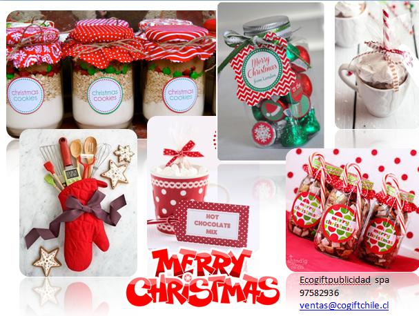 Dulce navidad detalles para regalar ecogift chile for Detalles de navidad